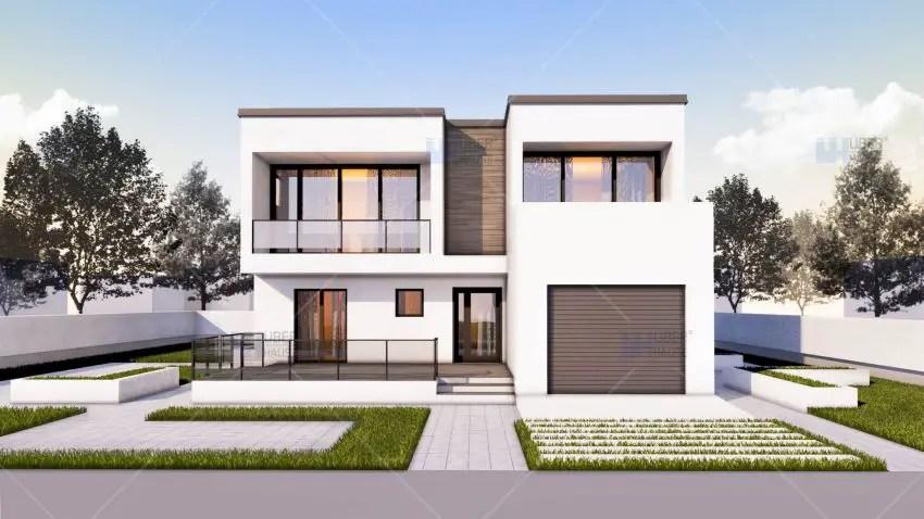 Case medii pe doua nivele 6 proiecte cu spatii generoase Medium sized home plans