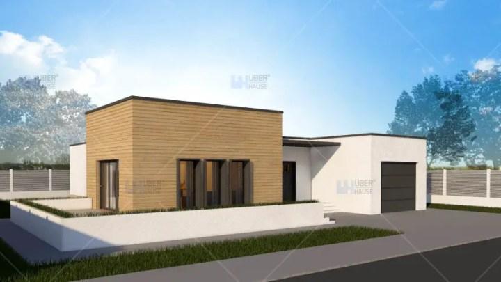 Case mici, cu garaj integrat - design pentru o familie moderna si activa