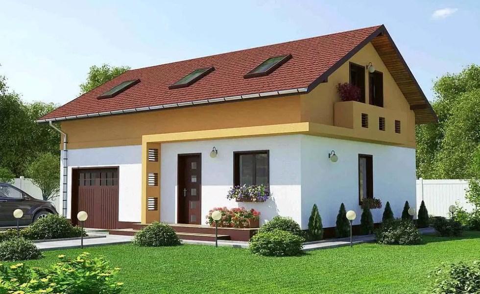 Case mici cu garaj integrat spatii diversificate case for Proiecte case cu garaj
