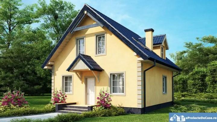 Case mici cu lucarne - arhitectura rafinata