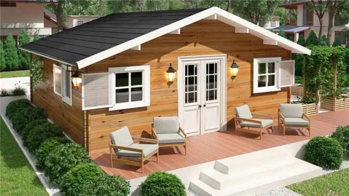 Case mici din lemn - o casa de vacanta ideala