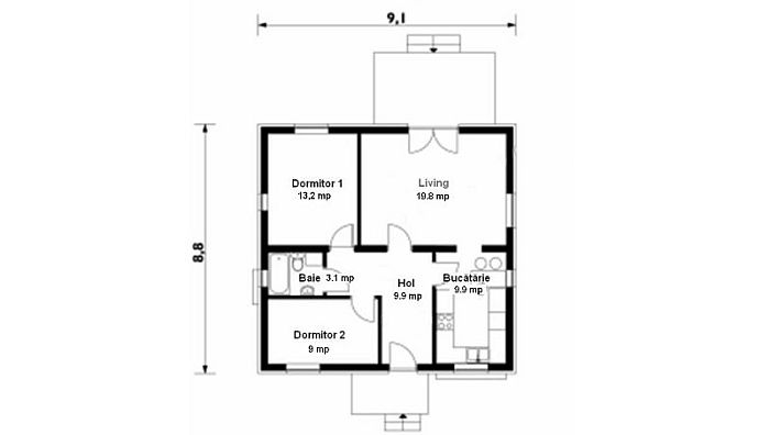 case mici din lemn Small wood homes 8