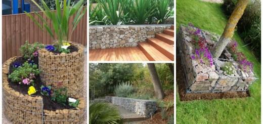 amenajarea gradinii cu gabioane