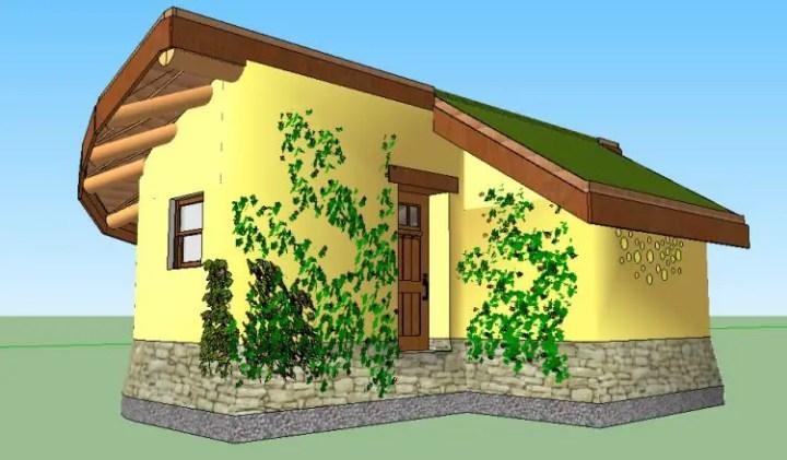 o casa din lut cob house 4