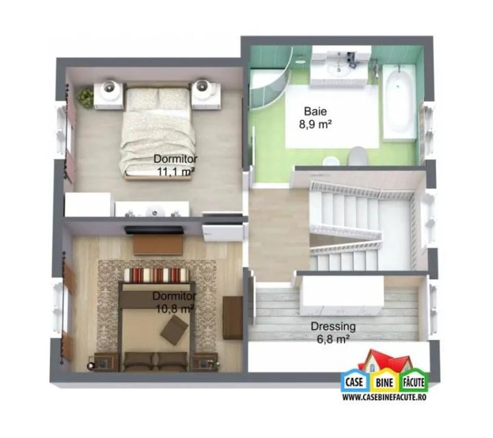 proiecte de case economice economical house plans 13