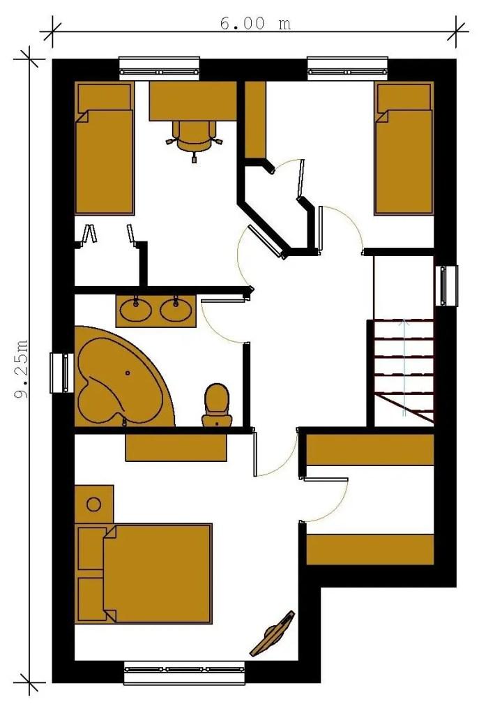 proiecte de case economice economical house plans 9