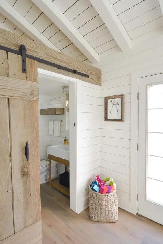 Interioare cu lambriu de lemn wood panel design ideas 11