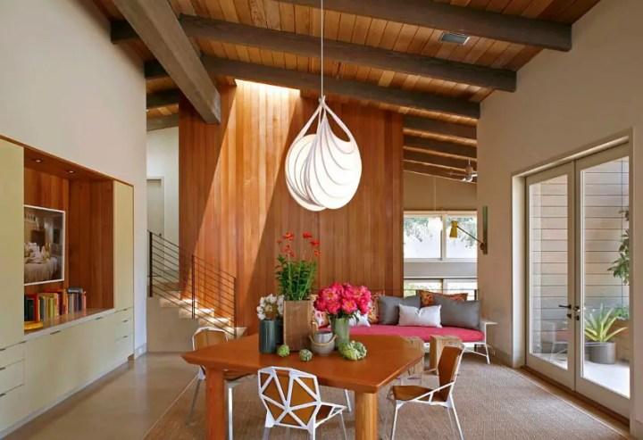 Interioare cu lambriu de lemn wood panel design ideas 12