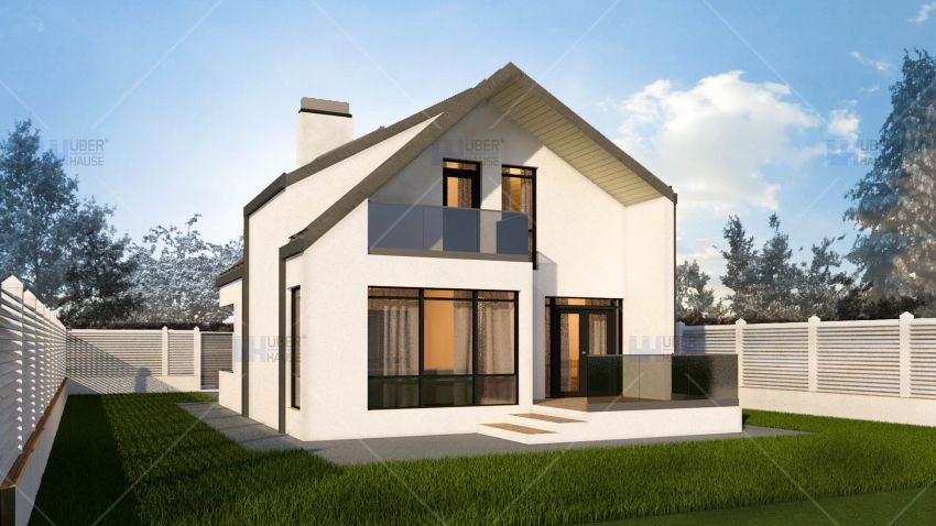 Case de vis cu mansarda trei proiecte captivante cu for Case de vis cu etaj