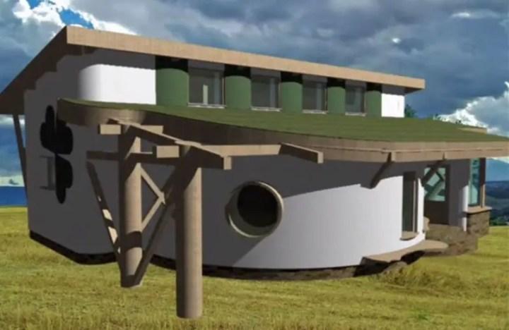 case din baloti de paie Straw bale house construction details  3