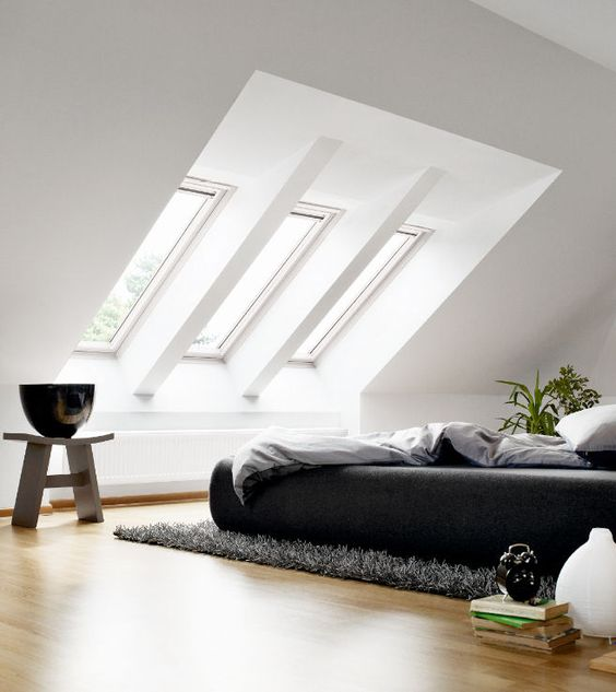 idei de ferestre de mansarda Ideas for skylights 9