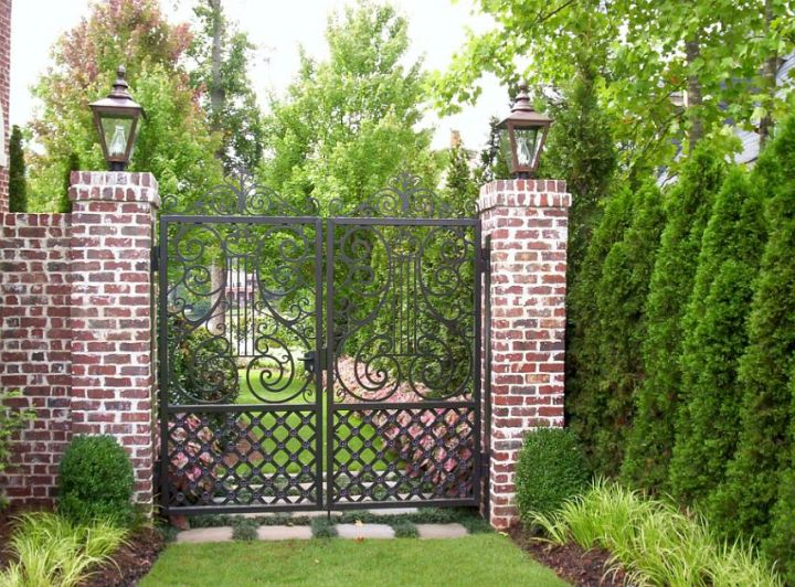 idei pentru spatiul de la poarta gate landscaping ideas 8