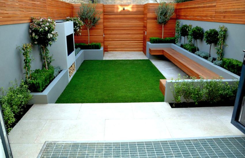 Decorating A 200 Square Meter Garden - Houz Buzz on Square Patio Designs  id=34428