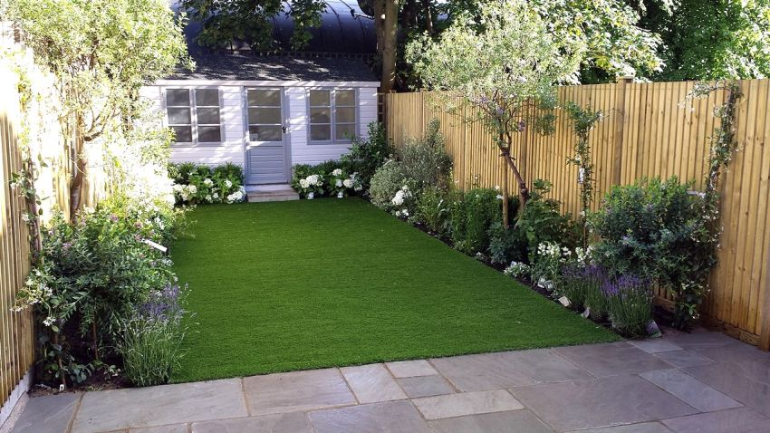 Decorating A 200 Square Meter Garden - Houz Buzz on Square Patio Designs  id=85309