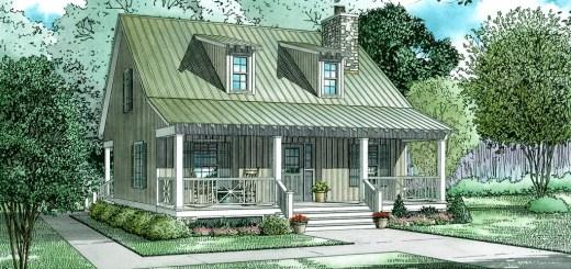 Idei de case mici cu doua dormitoare FOTO: Houseplans.com