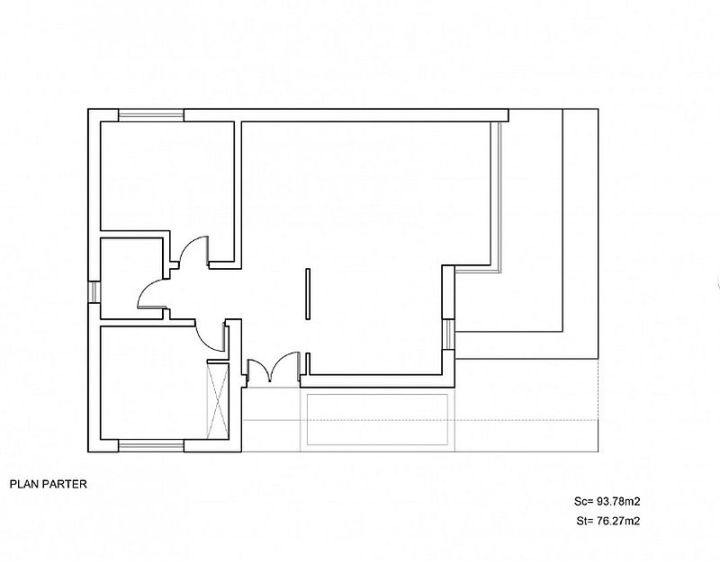 case mici cu doua dormitoare Small two bedroom house plans 4