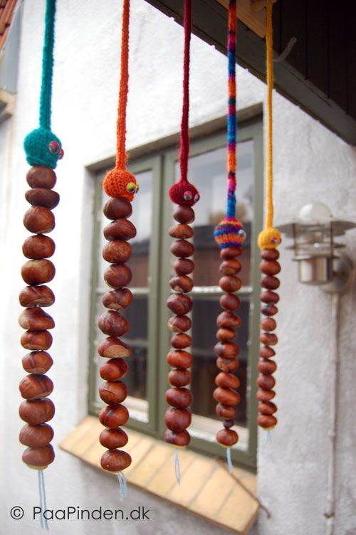 decoratiuni cu castane chestnut decorations 19