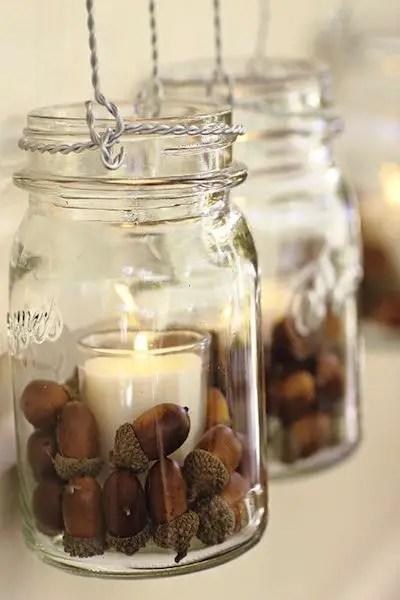 decoratiuni din ghinde si castane Acord and chestnut crafts 13