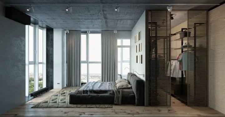 dormitoare in gri grey bedrooms 8