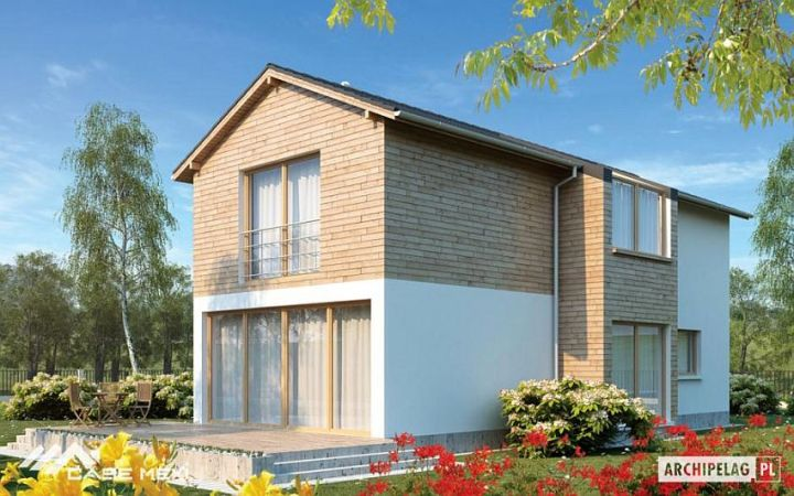 proiecte de case moderne cu etaj Modern two story house plans 2