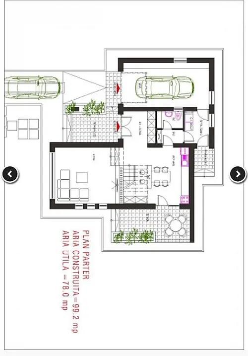 Proiecte de case economice cu 3 dormitoare case practice for Cheap 3 bedroom house plans