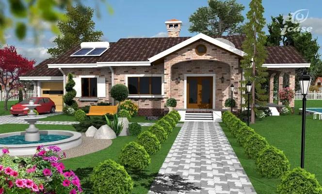 3 case cu parter si arhitectura clasica case practice for Proiecte case parter