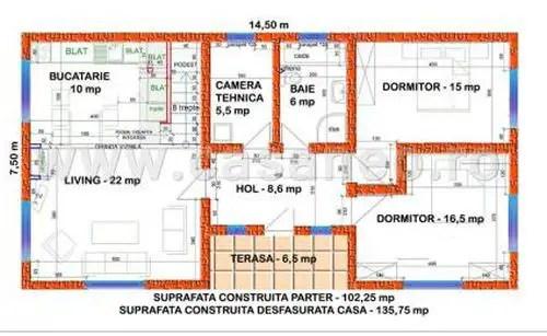 proiecte de case rustice cu mansarda plan casa
