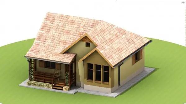 Case mici din lemn si osb locuinte frumoase si ieftine for Case din lemn ieftine