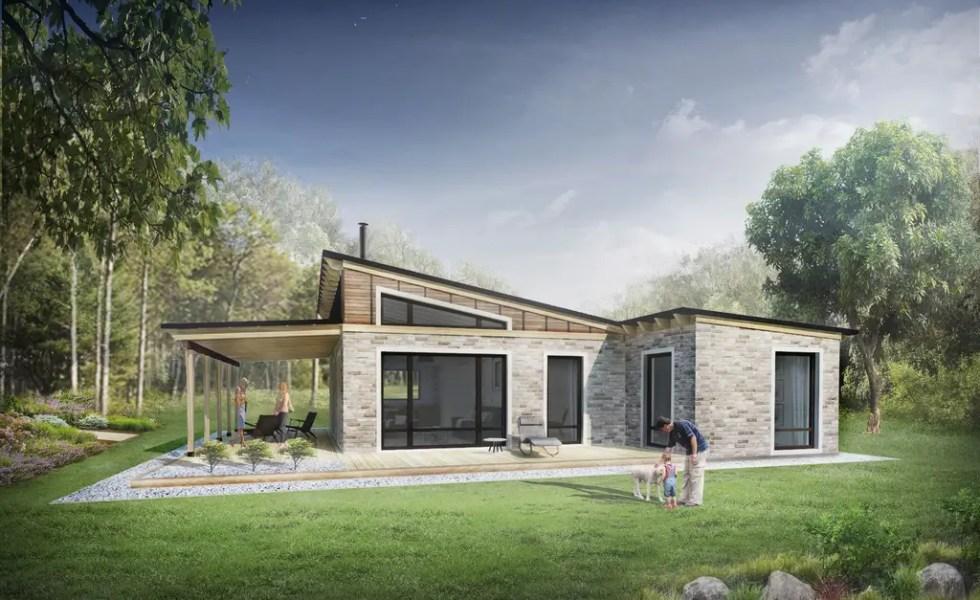 Case mici intre 60 si 80 de metri patrati locuinte de vis for Case de vis mici