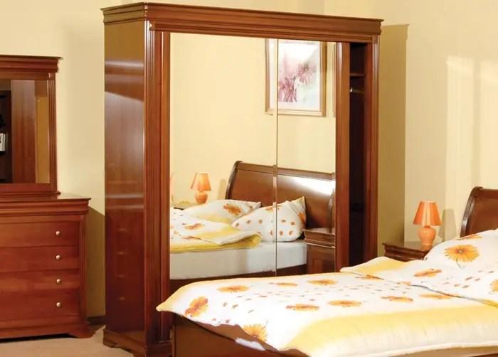 mobilier din lemn masiv pentru dormitor 1 servanta