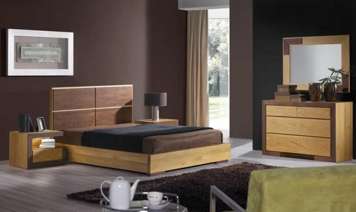 mobilier din lemn masiv pentru dormitor 5