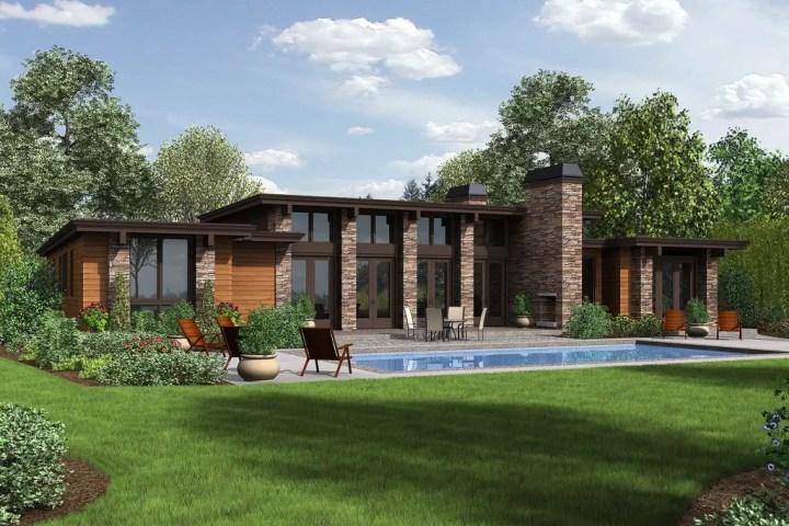 proiecte de case cu 5 camere 2 spate