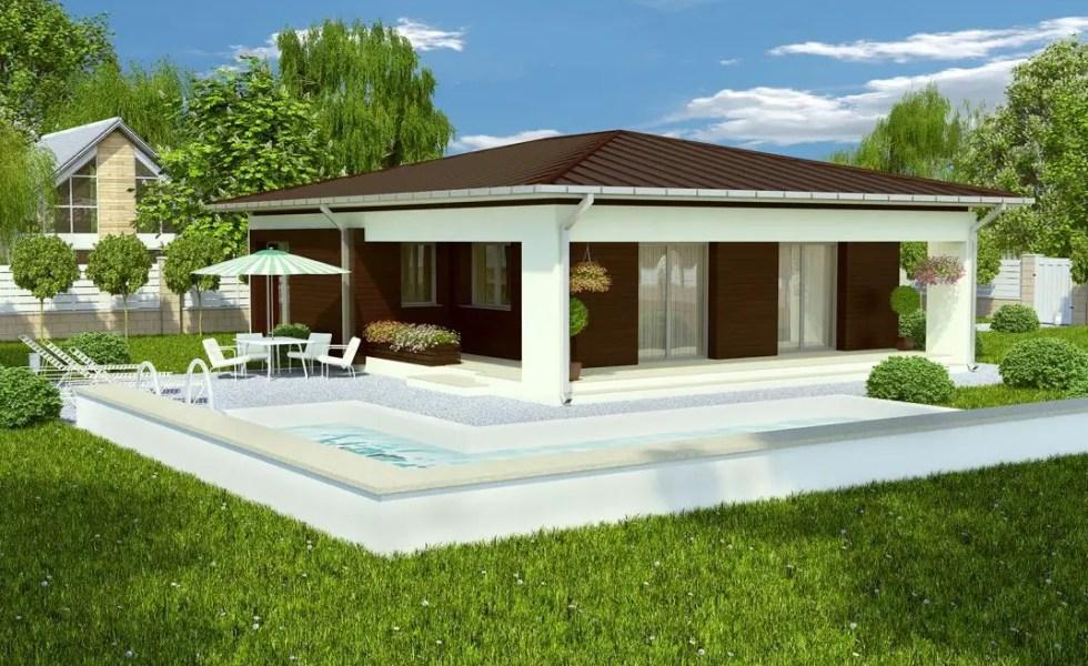proiecte de case economice moderna