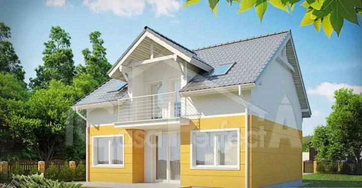 proiecte de case in doua culori 1