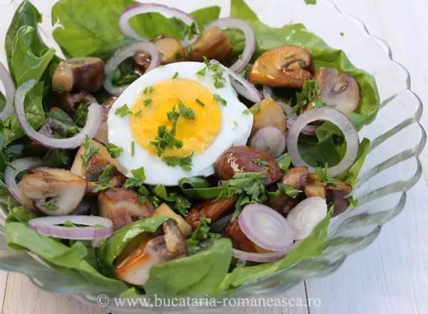 trei retete cu spanac salata