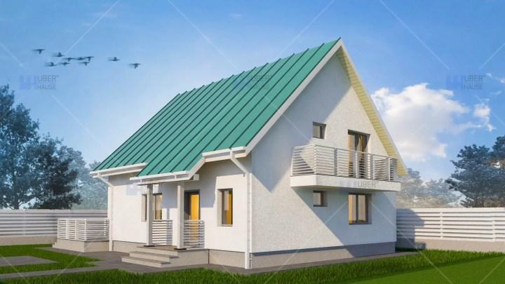 case cu mansarda pentru tineri 1 intrare
