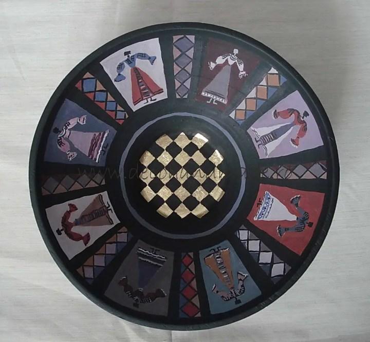 cele mai frumoase motive populare romanesti oameni ceramica