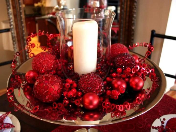 cum aranjezi masa de sarbatori ornamente pom