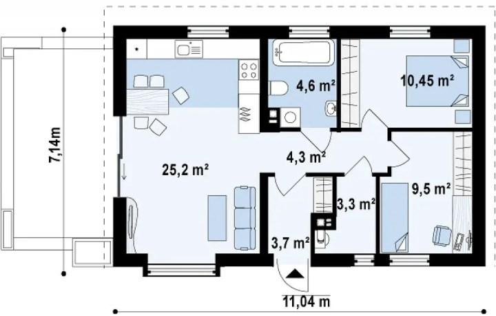 proiecte de case sub 30.000 de euro 1 plan