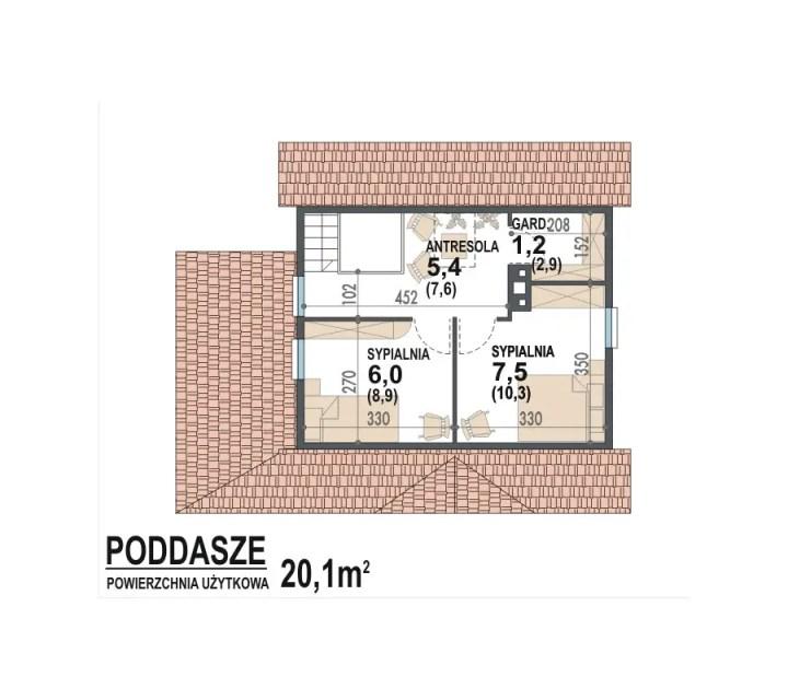 proiecte de case sub 30.000 de euro 3 plan mansarda