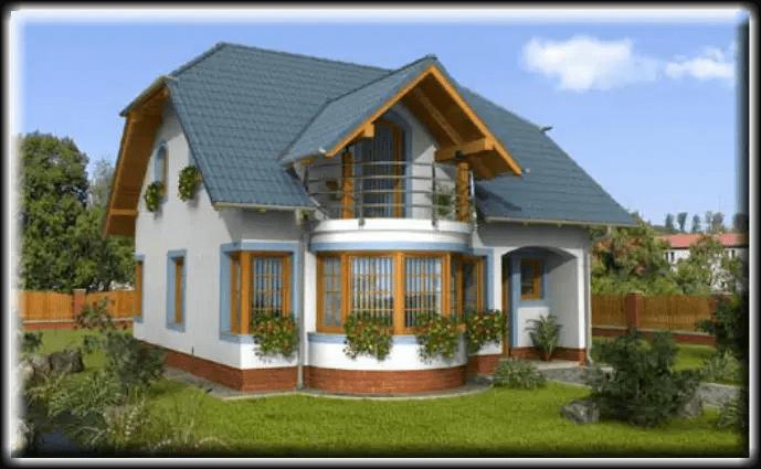 Modele de case medii cu mansarda pentru toate gusturile for Modele de case