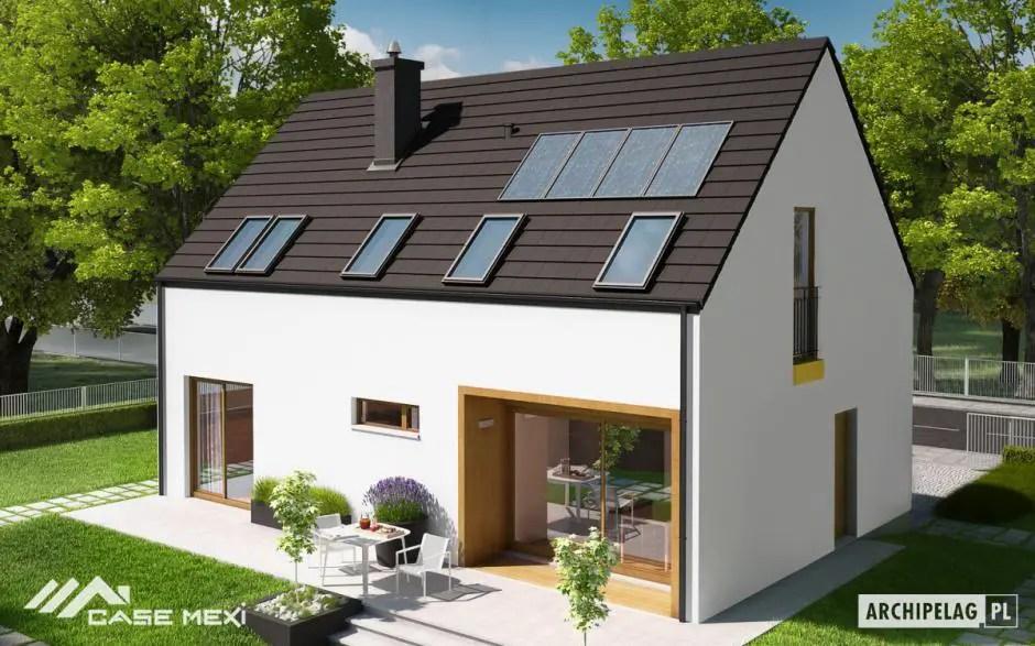 Proiecte de case cu acoperis in doua ape locuinte moderne for Pinterest case moderne