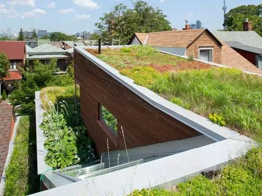 cum construiesti un acoperis inverzit