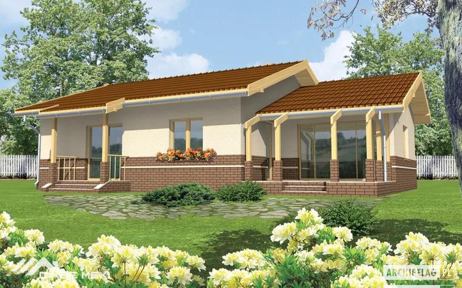 case cu terasa in spate relaxare si intimitate in cele