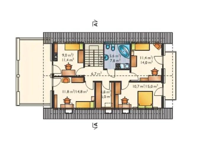 case cu 4 dormitoare si birou