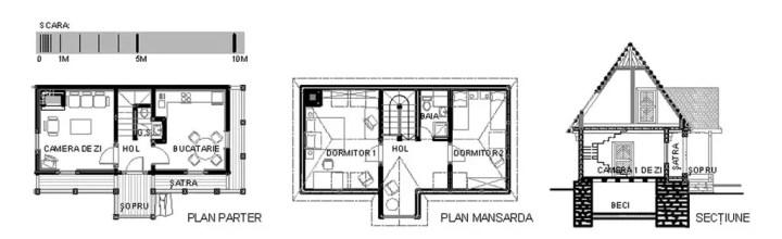modele de case din maramures