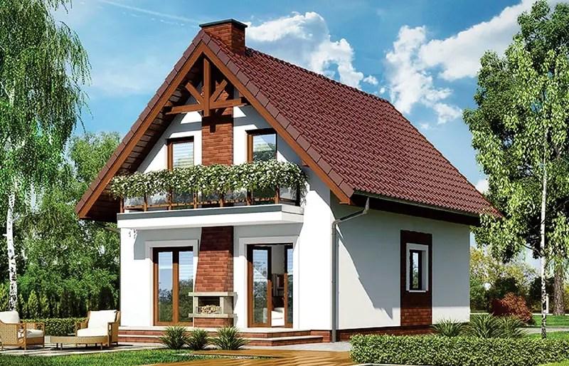 Modele de case mici cu mansarda accesibile si potrivite for Case de vis mici