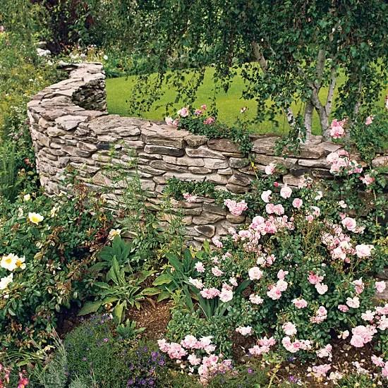 garduri din piatra pentru gradina