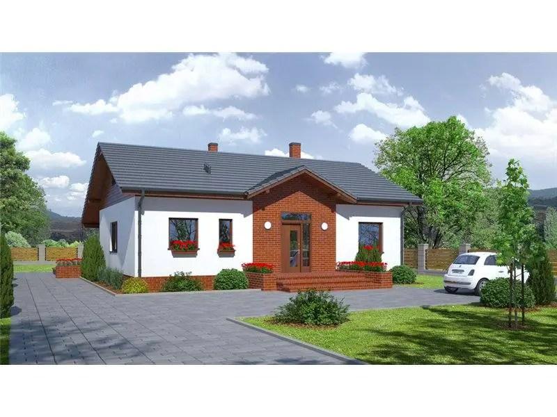 case moderne cu caramida aparenta
