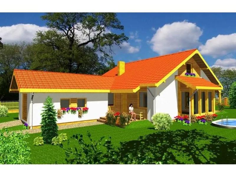 Case cu terase acoperite stiluri diferite acelasi aer for Case cu terase
